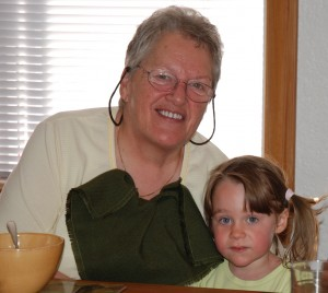 Gramma J with Pip